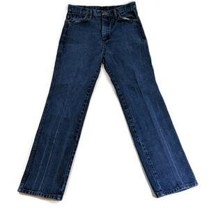 Vintage Men's Wrangler Straight Leg Jeans 34x32